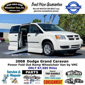2008 Dodge Grand Caravan for sale at Wheelchair Vans Inc - New and Used in Laguna Hills CA