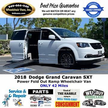 2018 Dodge Grand Caravan for sale in Laguna Hills, CA