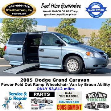 2005 Dodge Grand Caravan for sale at Wheelchair Vans Inc - New and Used in Laguna Hills CA