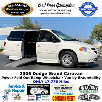2007 Dodge Grand Caravan for sale at Wheelchair Vans Inc - New and Used in Laguna Hills CA