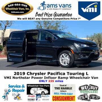 2019 Chrysler Pacifica Touring L for sale at Wheelchair Vans Inc - New and Used in Laguna Hills CA