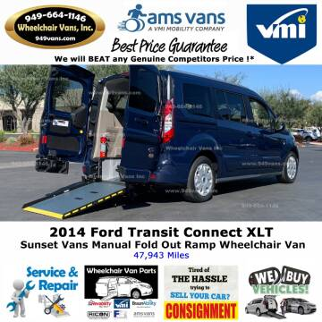 2014 Ford Transit Connect Wagon XLT for sale at Wheelchair Vans Inc - New and Used in Laguna Hills CA