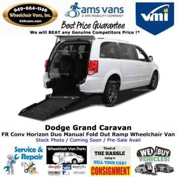 2014 Dodge Grand Caravan SE for sale at Wheelchair Vans Inc - New and Used in Laguna Hills CA