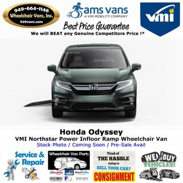 2020 Honda Odyssey EX for sale at Wheelchair Vans Inc - New and Used in Laguna Hills CA
