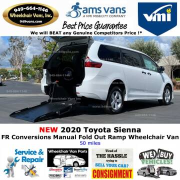 2020 Toyota Sienna L 7-Passenger for sale at Wheelchair Vans Inc - New and Used in Laguna Hills CA