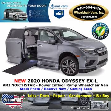 2020 Honda Odyssey EX-L for sale at Wheelchair Vans Inc - New and Used in Laguna Hills CA