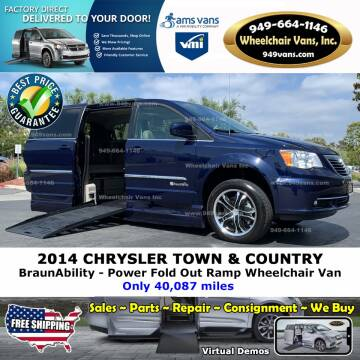 2014 Chrysler Town and Country Touring for sale at Wheelchair Vans Inc - New and Used in Laguna Hills CA