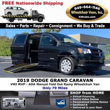 2019 Dodge Grand Caravan for sale at Wheelchair Vans Inc - New and Used in Laguna Hills CA