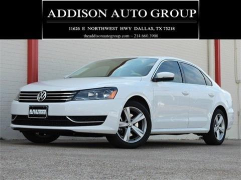 2013 Volkswagen Passat for sale in Dallas, TX