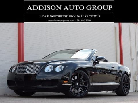 2007 Bentley Continental GTC for sale in Dallas, TX