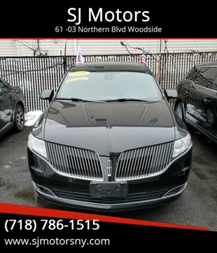 2015 Lincoln MKT Town Car for sale in Woodside, NY