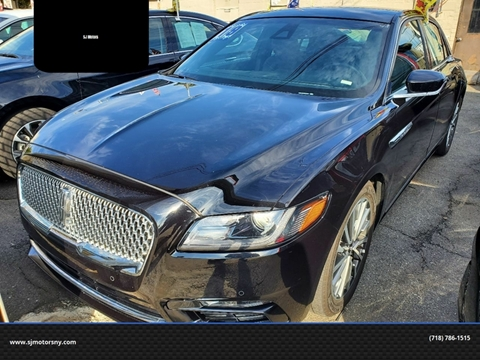 2019 Lincoln Continental for sale in Woodside, NY