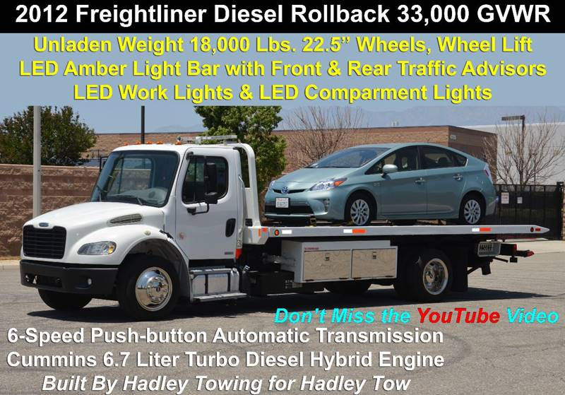 Rollback Tow Truck With Wheel Lift Ebay