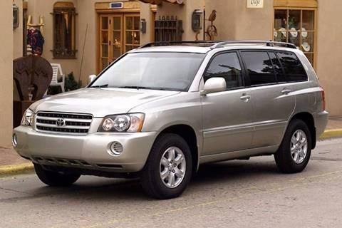 2003 Toyota Highlander for sale in Banks, AR
