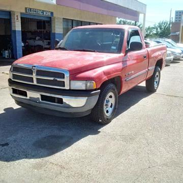 1999 Dodge Ram Pickup 1500 for sale at R&T Motors in Houston TX