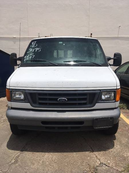 2007 Ford E-Series Cargo for sale at R&T Motors in Houston TX