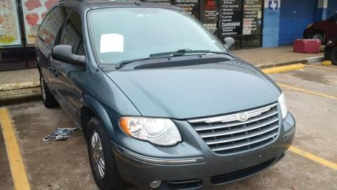 2005 Chrysler Town and Country for sale at R&T Motors in Houston TX