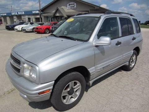 2003 Chevrolet Tracker for sale in Berne, IN
