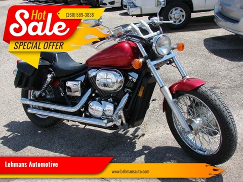 2006 Honda Shadow for sale at Lehmans Automotive in Berne IN