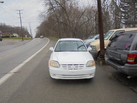 2002 Hyundai Accent for sale in New Castle, PA