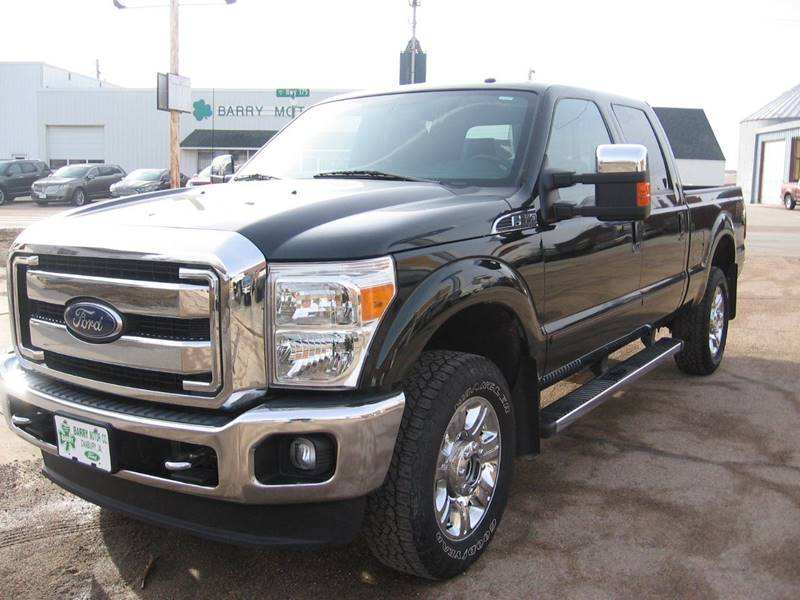 2015 ford f-350 super duty lariat in danbury ia - barry motor company