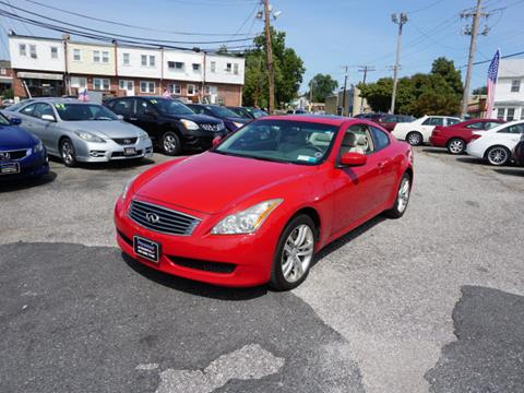 2010 Infiniti G37 Coupe for sale in Essex, MD