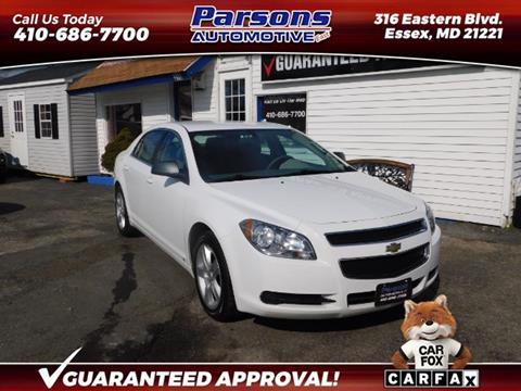 Cheap Cars For Sale >> 2010 Chevrolet Malibu For Sale In Essex Md