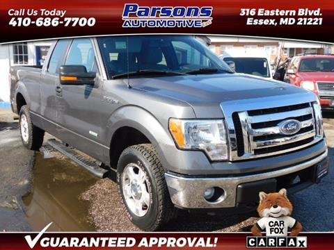 2011 Ford F-150 for sale in Essex, MD