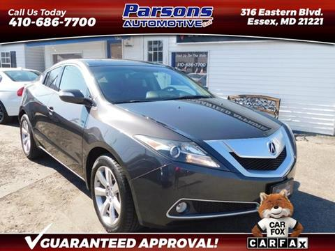 2010 Acura ZDX for sale in Essex, MD
