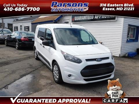 efe113610c Used Ford Transit Connect For Sale in Maryland - Carsforsale.com®