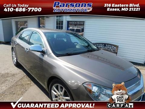 2011 Chevrolet Malibu for sale in Essex, MD