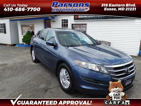 2012 Honda Crosstour for sale in Essex, MD