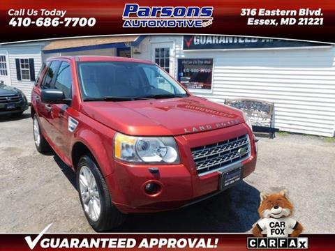 2009 Land Rover LR2 for sale in Essex, MD