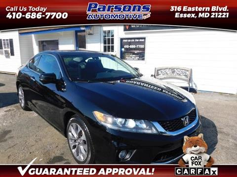 2015 Honda Accord for sale in Essex, MD