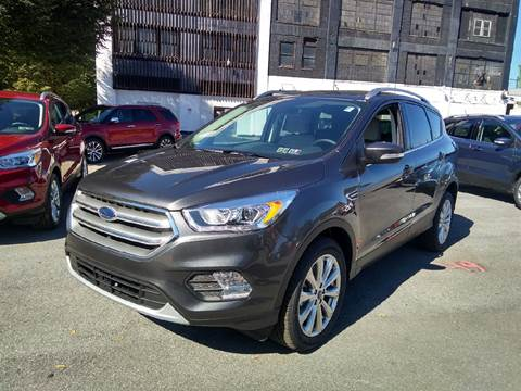 2017 Ford Escape for sale in Johnstown, PA
