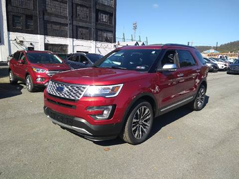 2017 Ford Explorer for sale in Johnstown, PA