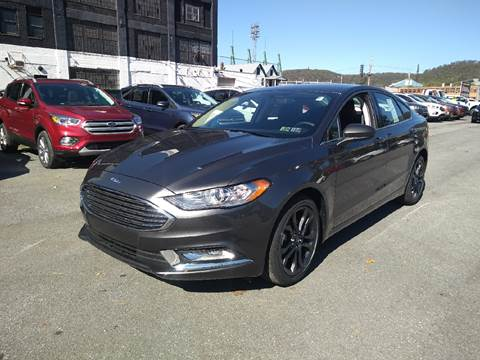 2018 Ford Fusion for sale in Johnstown PA