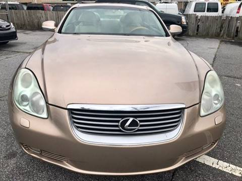 2005 Lexus SC 430 for sale at P & P Great Ride Auto Brokers LLC in Atlanta GA