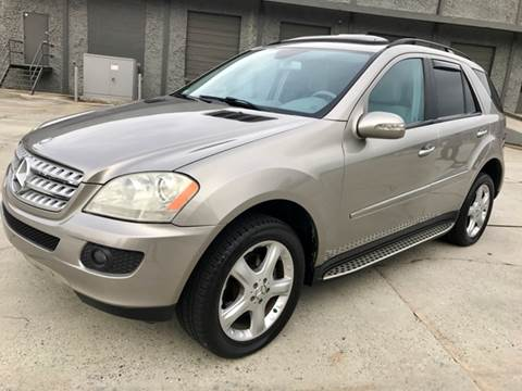 2007 Mercedes-Benz M-Class for sale at P & P Great Ride Auto Brokers LLC in Atlanta GA