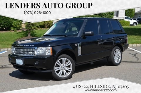 2009 Land Rover Range Rover for sale at Lenders Auto Group in Hillside NJ