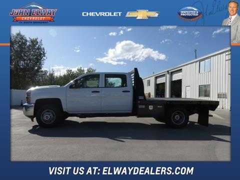 2017 Chevrolet Silverado 3500HD CC for sale in Englewood, CO