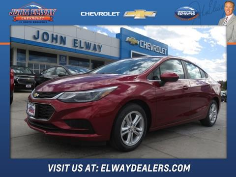 2018 Chevrolet Cruze for sale in Englewood, CO