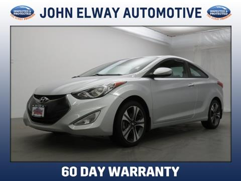 2013 Hyundai Elantra Coupe for sale in Englewood, CO