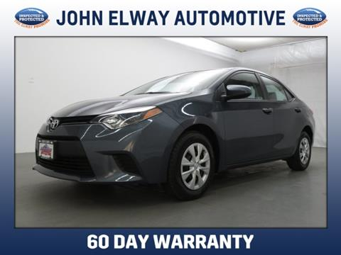 2014 Toyota Corolla for sale in Englewood, CO