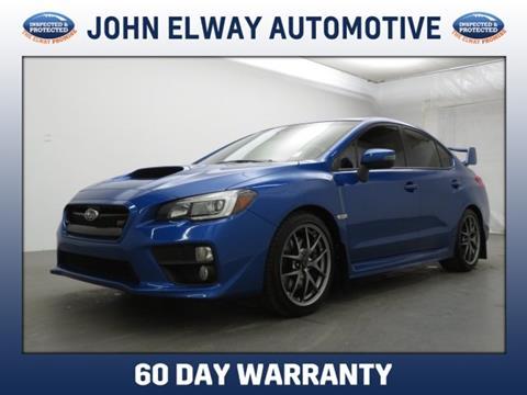 2016 Subaru WRX for sale in Englewood, CO