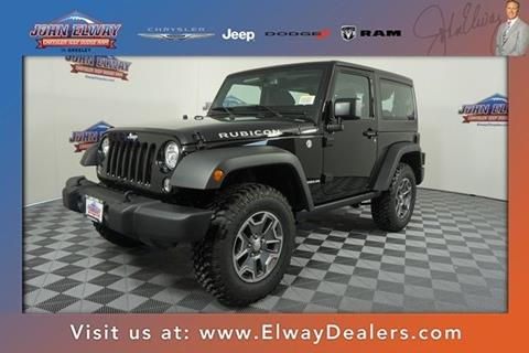 2017 Jeep Wrangler for sale in Greeley, CO