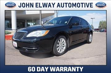 2012 Chrysler 200 for sale in Greeley, CO