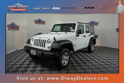 2018 Jeep Wrangler Unlimited for sale in Greeley, CO