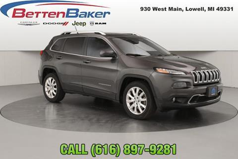 2014 Jeep Cherokee for sale in Lowell, MI
