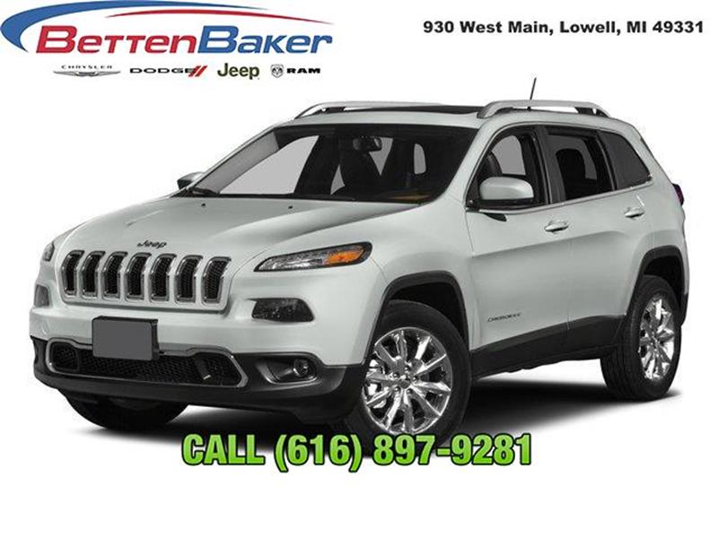 2015 Jeep Cherokee For Sale At Betten Baker Chrysler Dodge Jeep Ram In  Lowell MI